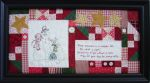Three Snowmen in a Meadow Fair Pattern