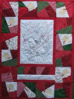 Santa Crazy Quilt Pattern by Turnberry Lane Patterns