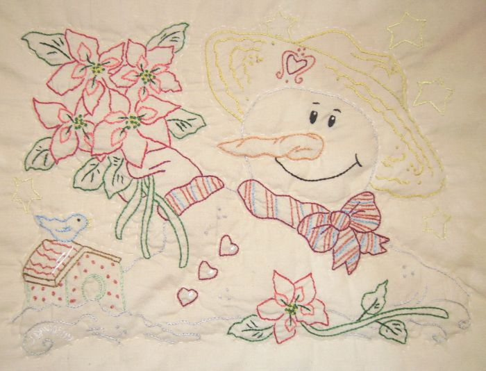 Hand Embroidery Patterns To Use To Make Your Own Table Runners