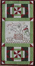St. Nick Embroidery Pattern from Turnberry Lane