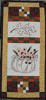 Autumn Patters for Machine Embroidery by Turnberry Lane