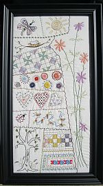 Cosmos Sampler Pattern by Turnbery Lane