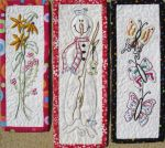Daisy, Frosty, Butterfly Bookmarks to embroidery!