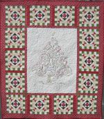 Smiley Tree Hand Embroidery Quilt Pattern by Turnberry Lane