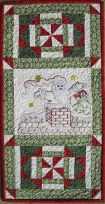 St. Nick for Machine Embroidery by Turnberry Lane Patterns