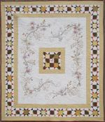 """Feels Like Fall""  Hand Embroidery Quilt Pattern"