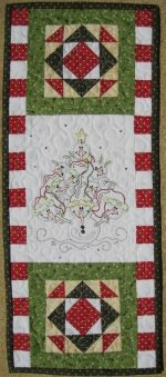 Holiday Mini Machine Embroidery Pattern from Turnberry Lane Patterns