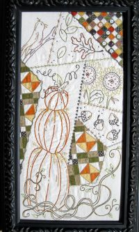 Autumn Breeze Sampler -  Hand Embroidery