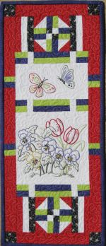 Blooms - Mini Hand Embroidery from Turnberry Lane Patterns