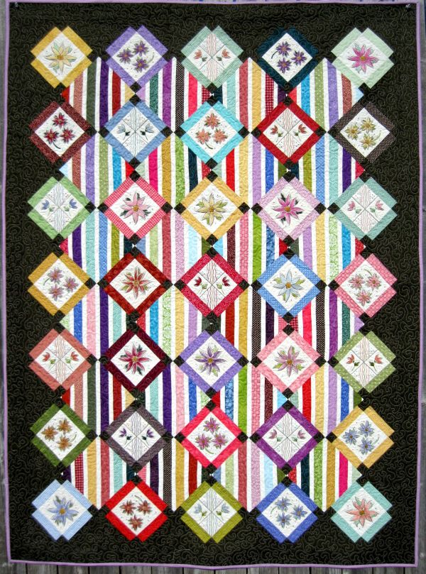 Turnberry Lane Machine Embroidery Patterns Table Runners Quilts