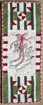 Mini Hand Embroidery Pattern - Skates