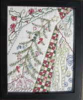 Feather Tree Sampler by Turnberry Lane Patterns