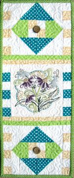 June, a Hand Mini Embroidery Pattern from Turnberry Lane