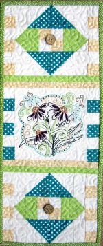 Machine Embroidery Mini:  June by Turnberry Lane Patterns