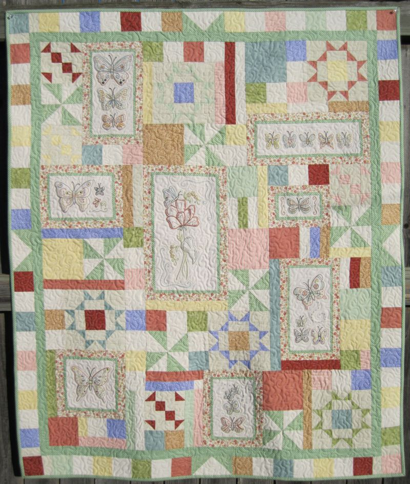 Embroidery quilt patterns makaroka