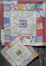 Machine Quilt Pattern - Spring Snow