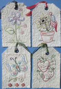 Hand Embroidery Pattern - Tag It
